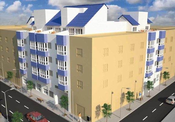 Edificio en Valencia, 28 viviendas en la avenida Primado Reig