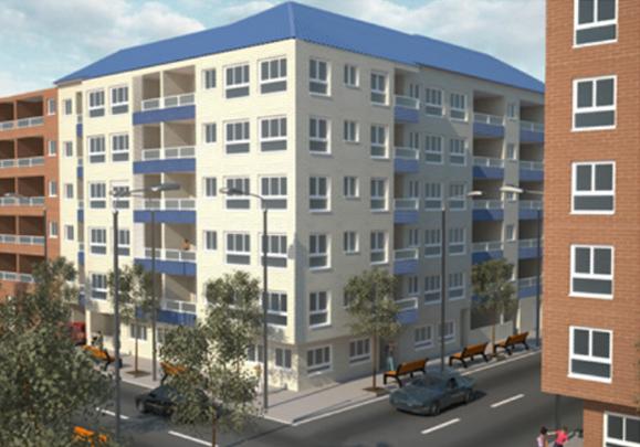 Edificio en L'Ollería (Valencia), 41 viviendas en la calle Francisco Andani