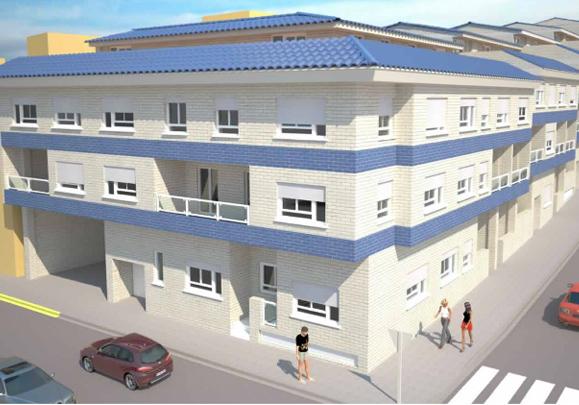 Edificio en Soneja (Castellón), 53 viviendas en la calle Rio Palancia